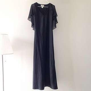 FREE POSTAGE💁🏻BLACK Evening Long Dress