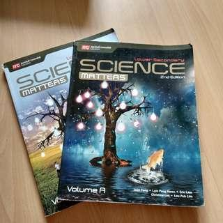 Lower Secondary Science Matters 2nd edition
