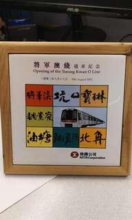 地鐵將軍澳綫通車紀念品