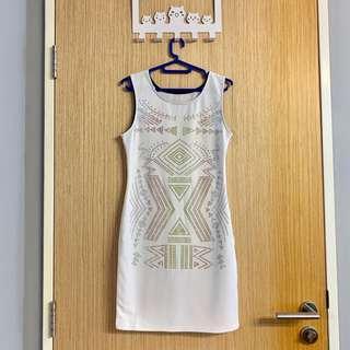 🚚 BN Beaded White Dress