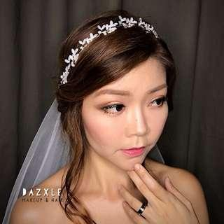 Bridal makeup for Actual Day/ROM