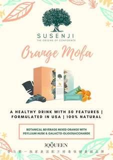 Susenji Orange Mofa Drink 🍊