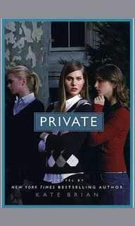 EBOOK 1-12 private series by kate brian