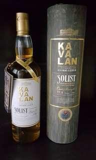 Early Kavalan Solist Ex-Bourbon Cask single malt whisky