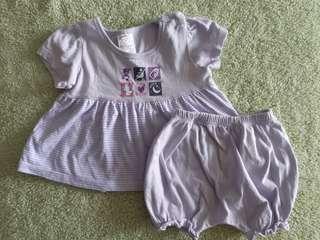 Tiny Button Cloth Set