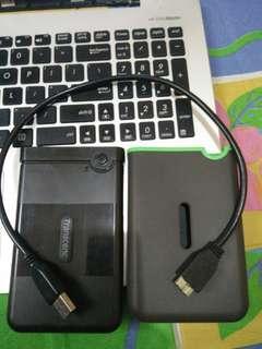 Transcend StoreJet 25M3 portable hard drive