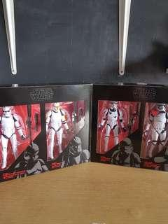 Star wars black series trooper pack