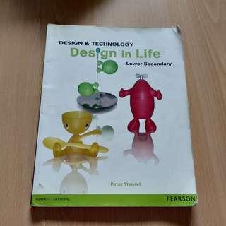 Design and Technology (D and T) textbook (lower sec)