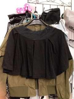 裙褲 黑色 black skirt