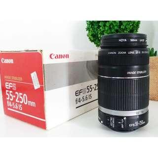 CANON EFS 55-250mm f/4-5.6 Image Stabilizer