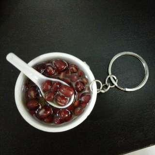 Brand new Red Bean Soup Dessert Keychain