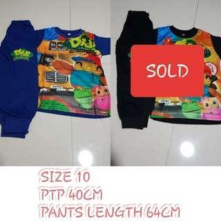 Kids/ Toddler's Pyjamas set Limited Sizes