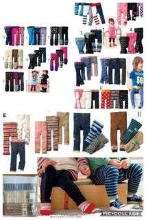 Legging pant for baby kid boy and girl 9mths up to 5yrs old