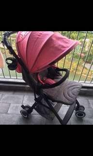 Stroller YOYA in pink