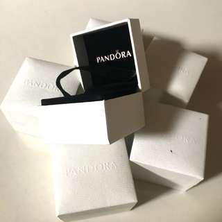 Pandora Charm / Ring Boxes