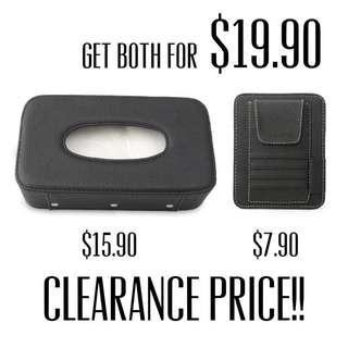 🚚 Car sun visor card holder car sun visor tissue holder tissue box