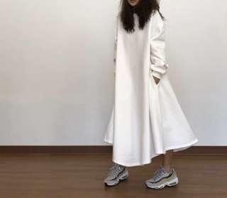[PO] Swe Oversized Classic Maxi Dress