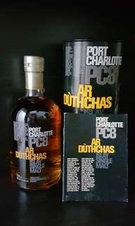 Rare Port Charlotte PC8 Bruichladdich single malt