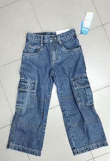 外國購回,全新未剪牌,Migros深藍色牛仔褲