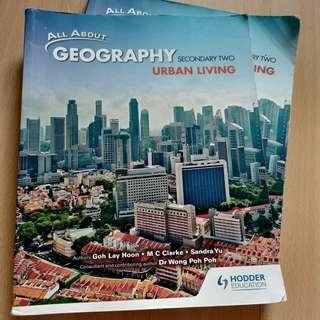Secondary 2 Geography Textbook urban living