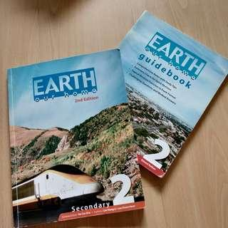 Geography Textbook: earth our home TEXTBOOK AND GUIDEBOOK