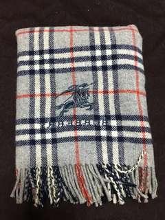 🚚 日製正品Burberry 經典格紋圍巾