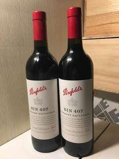 澳洲紅酒 2012 Penfolds 407