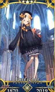 Fate grand order FGO 🇯🇵 4 x 5*SSR account