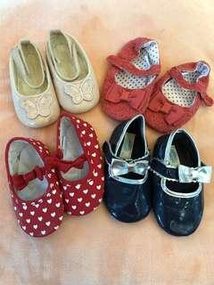 Bundle: Enfant til 18 months shoes for girls
