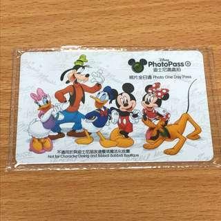 香港迪士尼樂園 photopass 12月1日到期