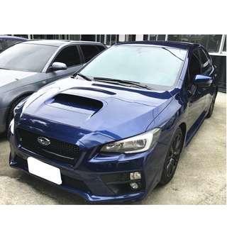 【FB搜尋品品二手車知識分享】2014年 SUBARU WRX 藍