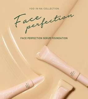 Moonshot face perfection serum foundation