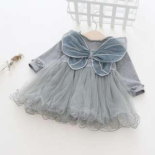 🚚 Little Fairy Wing Design Fluffy Dress (NCD 009)