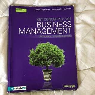 Business Management 3/4 Textbook