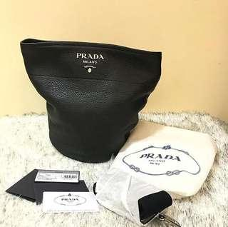 Brand New Prada Bucket Complete Inclusions Strap, cards and Dust Bag  #prada #luxurybags #opulence #aparadoor #aparadoorbags #aparadoorluxury