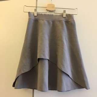 Grey skirt 橡筋腰灰色半身裙