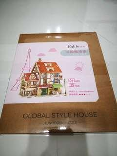 3D wooden puzzle - Global Style House