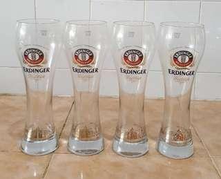 Erdinger glass cup