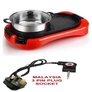 Steamboat 3 in 1 BBQ Grill