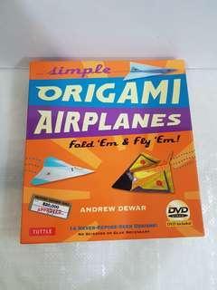 Simple Origami Airplanes : Fold 'em & Fly 'em! By Andrew Dewar