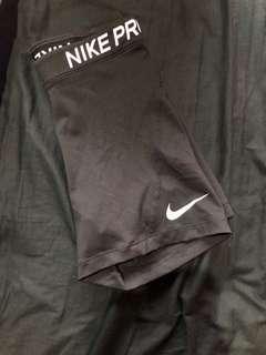 Nike pro shorts - small