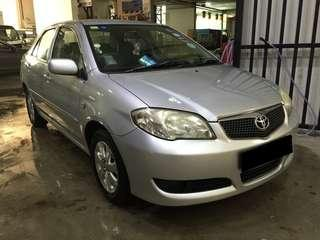 16/11/2018-19/11/2018 TOYOTA VIOS $180 (P PLATE WELCOME)