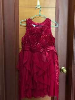 Beautiful red dress used once