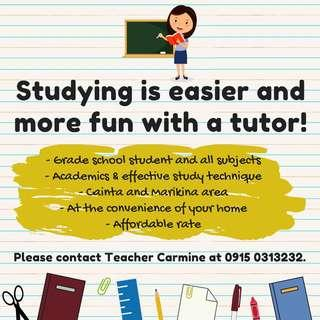 Looking for students to tutor!