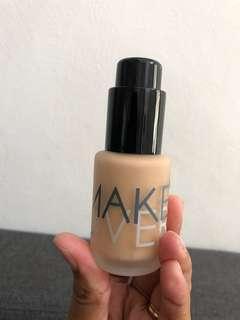 Make Over Foundation Liquid 05 Velvet Nude