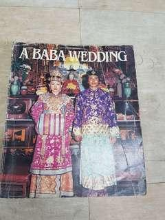 A Baba Wedding Book