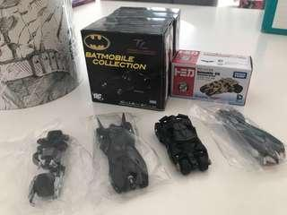 Tomica diecast bat mobile collection (5 pieces)