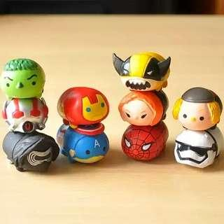 [FREE POSTAGE!] Star Wars Cute Tsum Cake Toppers / Figurines