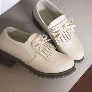 🚚 學院風厚底高跟鞋