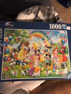 Disney puzzle 1000